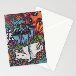 a new society Stationery Cards