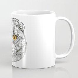 Scottish Fold cat Coffee Mug