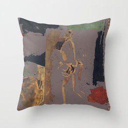 Traces of Josephine B Throw Pillow