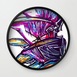 Mushing Rooms Wall Clock