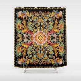 Mandala Fire Dance  Shower Curtain