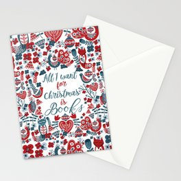 Christmas Books Stationery Cards