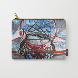 Basketball art swoosh vs 32 Carry-All Pouch