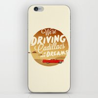 lorde iPhone & iPod Skins featuring We're Driving Cadillacs In Our Dreams - Lorde: Royals  by Four & Thirty