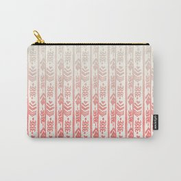 Indonesian batik coral Carry-All Pouch