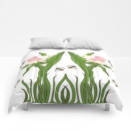 Buzzed Daffodils Comforters