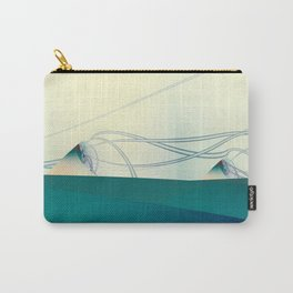 A Day of Sail Boat Racing Carry-All Pouch