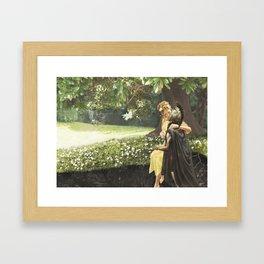 Hades & Persephone Framed Art Print