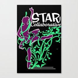 Neon Ballet Collaborative Canvas Print