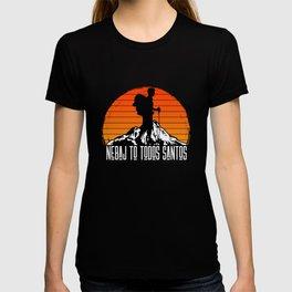 Nebaj to Todos Santos - Hiking Trail Vintage Retro T-shirt
