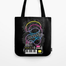 Music Coaster Tote Bag