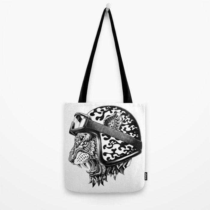Tiger Helm Tote Bag