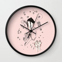 Entangled Wall Clock