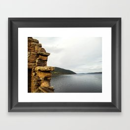 Crumbling Castle Framed Art Print