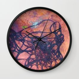 Copper Etching Plate 2 Wall Clock