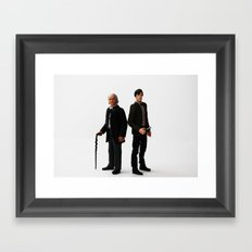 The Two Doctors Framed Art Print
