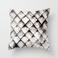 shells Throw Pillows featuring SHELLS by ED design for fun