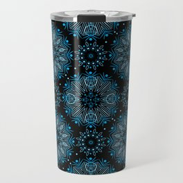 Winter night . Ornamen Travel Mug