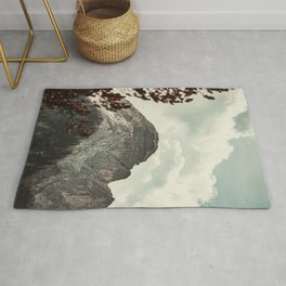 Fall Mountain View Landscape Rug