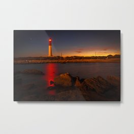 Lighthouse in Provence Metal Print