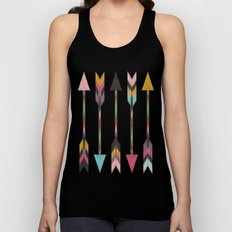 Bohemian Arrows-Pattern Unisex Tank Top