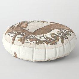 Rabbit Floor Pillow