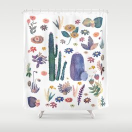 kung of the nature Shower Curtain