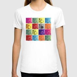 retro camera pop art style T-shirt