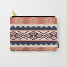 Native American Geometric Pattern Carry-All Pouch
