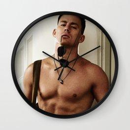 Channing Tatum Wall Clock
