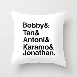 Queer Eye Throw Pillow