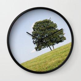 Tree Tilt Wall Clock