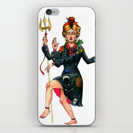Frizzle Shiva iPhone Skin