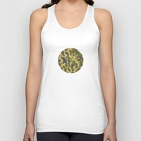 military Tank Tops featuring Military Pattern by Crazy Thoom