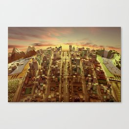 Argentine Canvas Print