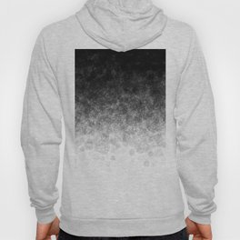 Disappearing Fog - Black and White Gradient Hoody