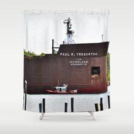 Tregurtha Shower Curtain