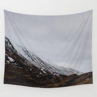 scotland Wall Tapestries featuring Glencoe, Scotland by Diana Eastman