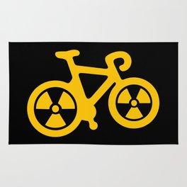 Radioactive Bicycle Rug