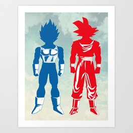 Warriors Art Print