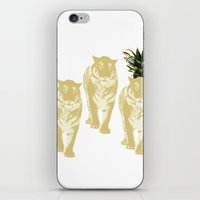 tigers iPhone & iPod Skins featuring tigers by vica