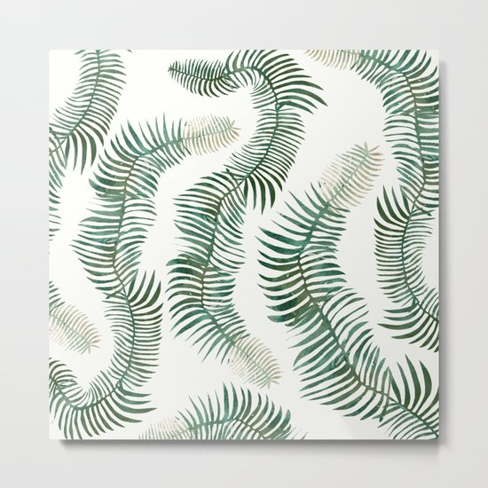 tropical leves wild Metal Print