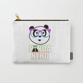 Panda Nerd Girl - Rainbow Carry-All Pouch