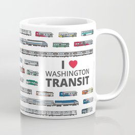 The Transit of Greater Washington Coffee Mug