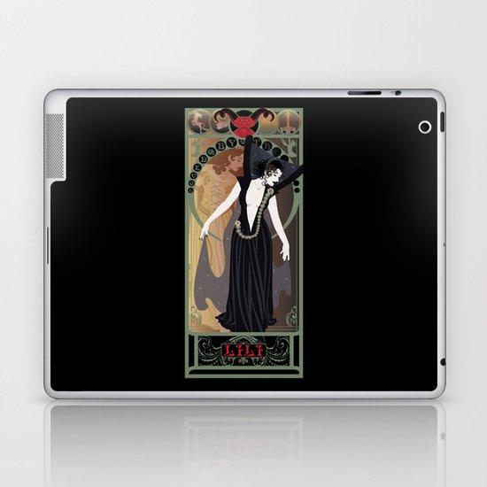 Dark Lili Nouveau - Legend Laptop & iPad Skin