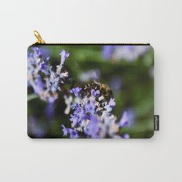 Bee on lavander Carry-All Pouch