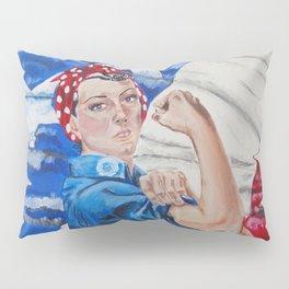 Rosie the Riveter Pillow Sham