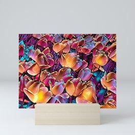 Midnight Magic Tulip Field Mini Art Print