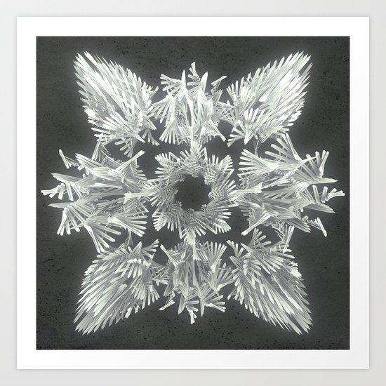 A Winged Debacle Art Print