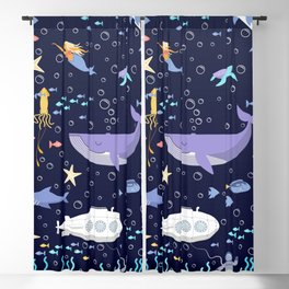Under the sea Blackout Curtain